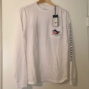 Vineyard Vines Long Sleeve Boston Tee - NWT